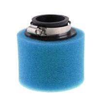 Pulitore di schiuma con filtro aria blu da 42mm per scooter ATV Pit Dirt