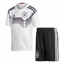 adidas Germany WC World Cup 2018 Toddler Home Soccer Kit Brand New White Black