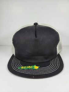Vintage Bo Jac small PATCH trucker Snapback YOUTH hat K-Products USA READ DESC