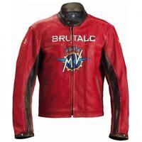 New Handmade MV Agusta RED Motorcycle Jacket