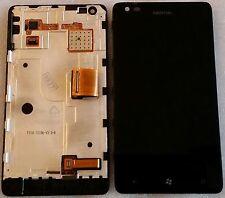 ORIGINALE DISPLAY LCD TOUCHSCREEN unità bildschrim quadro di Vetro Nokia Lumia 900