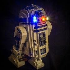 LIGHT MY BRICKS - LED Light kit for Lego Star Wars R2D2 set 10225 Lego LED Light