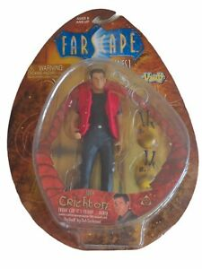 Farscape Figure John Crichton - I Do, I Think -  Rare ToyVault Series 1 MOC