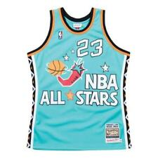 #23 Michael Jordan NBA All-Star NAVY BLUE Jersey Authentic Vintage Swingman