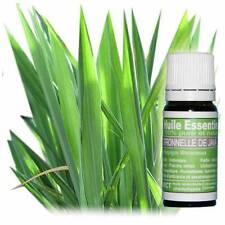 Huile essentielle de citronnelle eco-certifiable 100% HECT pure et naturelle