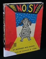 Margaret Wise Brown WINTER NOISY BOOK 1947 w/DJ Charles Shaw