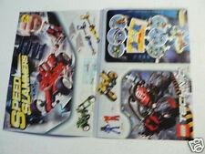 LEGO BROCHURE FLYER CATALOG TOYS TECHNIC SPEEDSLAMMERS DUTCH 2 PAGES 026