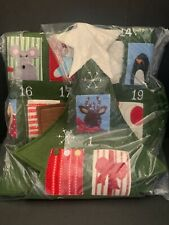 Pottery Barn Kids TELLURIDE Christmas TREE Shaped Countdown ADVENT Calendar NEW