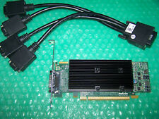 Matrox M9120 Plus 512MB PCI-E x16 Quad Display Graphics Card + Quad Cable