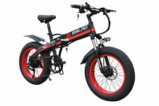 Folding electric bicycle moped 20*4.0 inch beach snow fat tire mountain bike