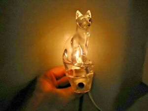 """Light Activated Standing Cat Shaped Night Light """" GREAT RARE TYPE """""""