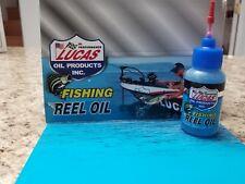 Lucas Fishing Reel Oil 1oz Needle Oiler 10690 Knife Marine Boat Rv