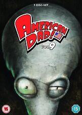 AMERICAN DAD Volume 9 Serie Completa BOX 3 DVD in Inglese NEW PRENOTAZ.
