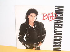 LP - MICHAEL JACKSON - BAD - PROMO STAMP