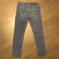 AG Adriano Goldschmied Stilt Cigarette Leg Stretch Denim Jeans Woman's Size 29R