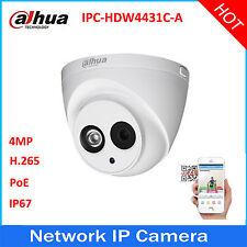Dahua IPC-HDW4433C-A HD 4MP PoE Built-in Mic IR Dome Network Security IP Camera