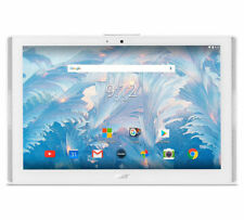 """Acer Iconia One B3-A40 10"""" Tablet Marble White 1GB 16GB Quad Core 1.3GHz"""
