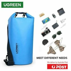 Ugreen Waterproof Bag Dry Outdoor Backpack Kayak Ocean Sack Cycling 10L Blue