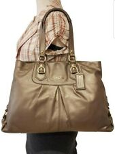 COACH ASHLEY F15513 GOLD LEATHER  HOBO SATCHEL PURSE HAND SHOULDER BAG