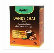 3 x 32 bags KINTRA Dandy Chai - Roasted Dandelion Root with Chai Spices ( 270g )
