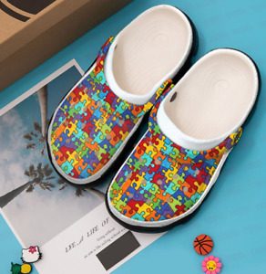 AUTISM CROCBAND Clog comfortable for mens and womens classic clog