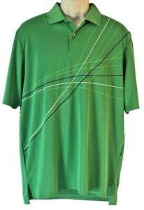 Under Armour Pebble Beach Golf Links Shirt Medium Loose Fit Heat Gear Green