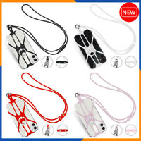 🔥 Silicone Lanyard Case Cover Holder Sling Neck Strap For Cell Phone 2021🔥