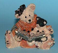 """Boyds Bears Halloween Agatha """"Scardy Cat"""" resin #2246"""