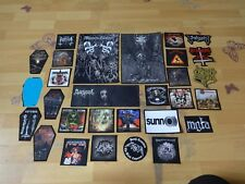 Heavy Thrash Death Black Metal Patch LOT 29 Patches Coffin Aufnäher Kutte NR 669
