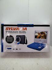 Sylvania 7″ Swivel Screen Portable Dvd Player - Blue (Sdvd7060-Combo-Blue)