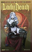 Boundless - The Art Of Lady Death Volume 1 Signed Limited Edition HC