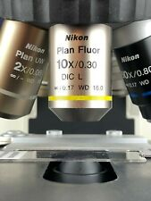 Nikon CFI Plan Fluor 10x/0.30 DIC L ∞/0.17 WD 16.0 Microscope Objective 110%