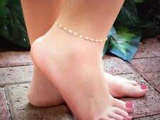 Sexy Sequin Anklets For Women Gold Ankle Bracelet