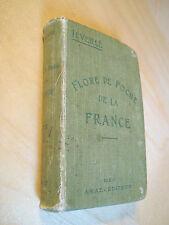 Léveillé Tableau analytique de la flore française Flore de poche de France 1906