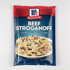 McCormick Beef Stroganoff Sauce Seasoning Mix [1.5oz] Best By 5/26/2021