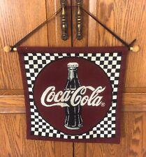 Coca Cola Banner Vtg