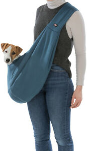 New Blue Luxury Junior Front Sling Carrier Soft - For Small Dogs & Puppies