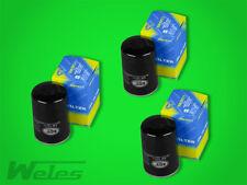 3 x SM107/1 Ölfilter MERCEDES 190 W201 E 1,8 2,0 2,3 2,6 W124 200 230 260 300