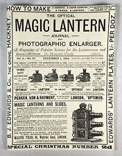 The Optical Magic Lantern Journal and Photographic Enlarger, Vol 5 - No 67, 1987