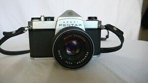ASAHI PENTAX SP 1000  objectif PENTACON auto 1.8/50mm bel état fonctionnel.