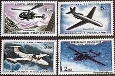 FRANCE 1960/64 AVIONS PROTOTYPES PA YT 38 A 41 NEUF ** 44m05
