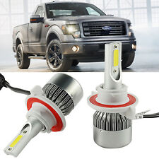 H13 9008 LED Headlight Bulbs Kit for Ford F150 2004-2014 High Low Beam Lighting