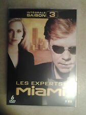 21906//LES EXPERTS MIAMI INTEGRALE SAISON 3  /24 EPISODES NEUF SANS BLISTER