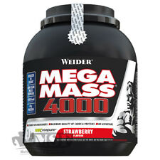 Weider Mega Mass 4000 3kg (13,30€/Kg) CREAPURE Kreatin Kohlenhydrat-Proteinmix