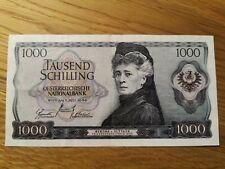 Austria 1000 Schilling 1966 Erhaltung VF+/lll+