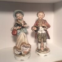 Set of 2 Vintage Norleans Figurines From Japan