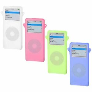 4-Pack Silicone Skin Cover for 1st Generation iPod Nano
