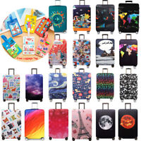 Travel Luggage Cover Protector Elastic Suitcase Cover Dust-proof Anti Scratch