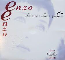 *PHOTOS* ENZO ENZO : LA MEME LUNE QUE MOI [ CD SINGLE ]