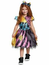 Sally Disney The Nightmare Before Christmas Ragdoll Toddler Girls Costume 3T-4T
